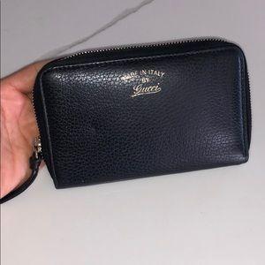 Black Gucci Wallet EUC